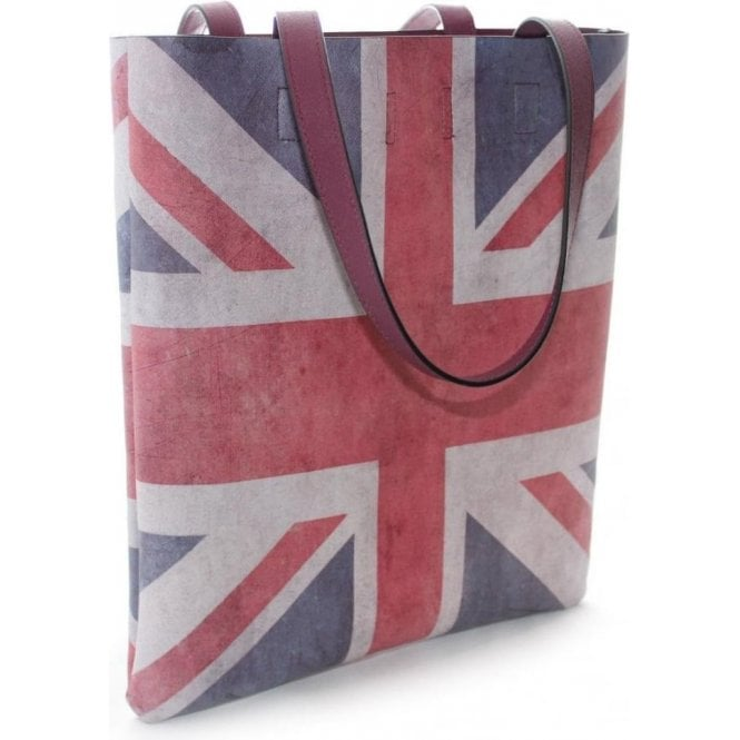 Union Jack Tote Bag - Shabby Chic