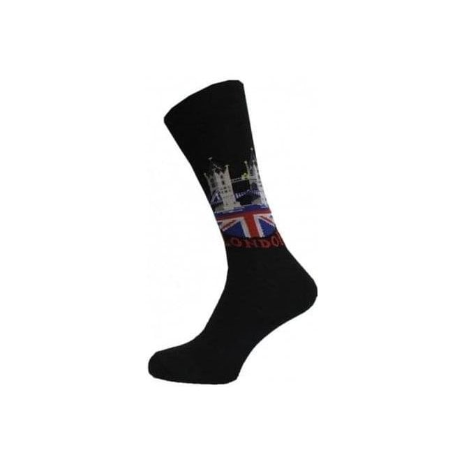 London Bridge Union Jack Men's Socks
