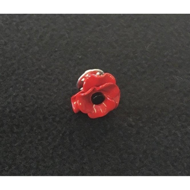 Union Jack Wear Poppy Lapel Pin