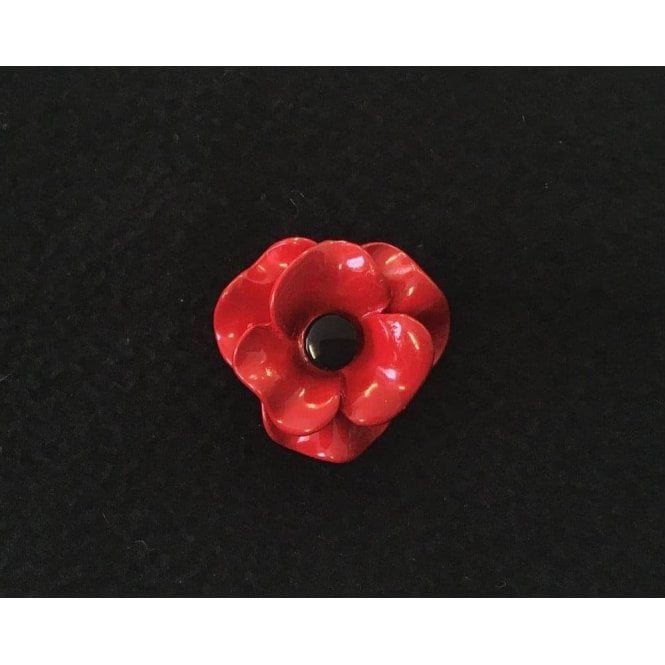 Union Jack Wear Poppy Brooch Matt