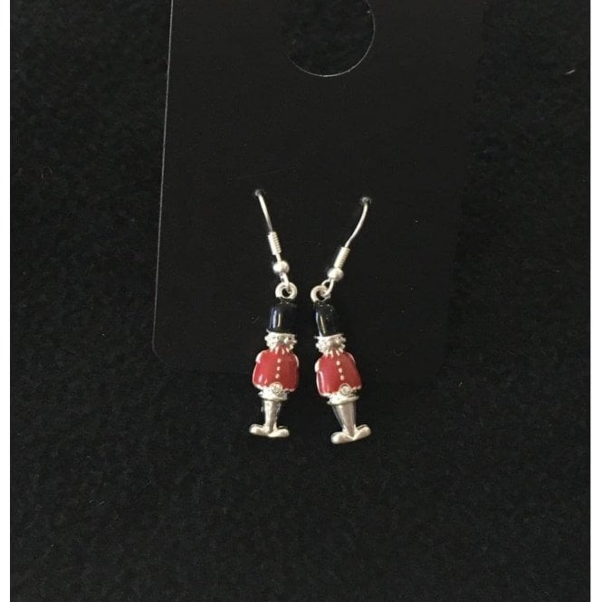 Union Jack Wear British Guardsman Earrings