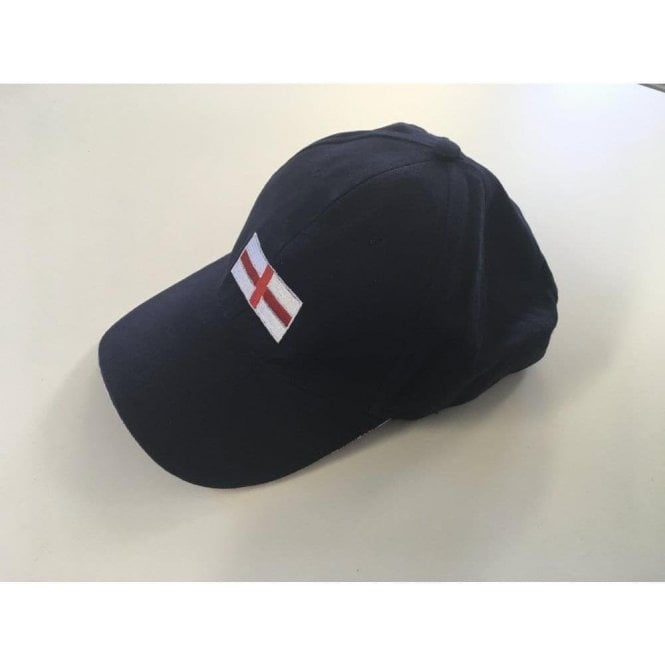 Union Jack Wear England Baseball Cap - Navy Blue - St Georges Flag