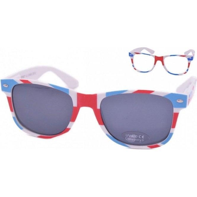 Union Jack Wear Union Jack Wayfarer Sunglasses - Ladies
