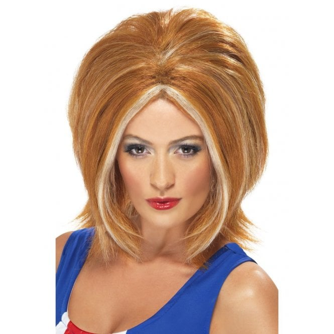 Union Jack Wear Ginger Spice wig - Girl Power