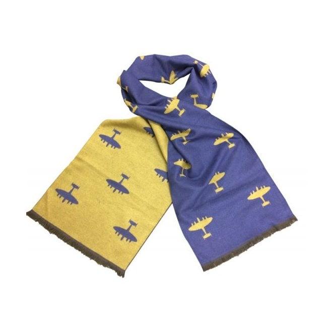 Union Jack Wear Lancaster Scarf - RAF Blue Lancaster scarf