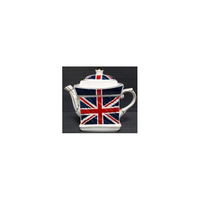 Union Jack Wear Union Jack Square Tea Pot