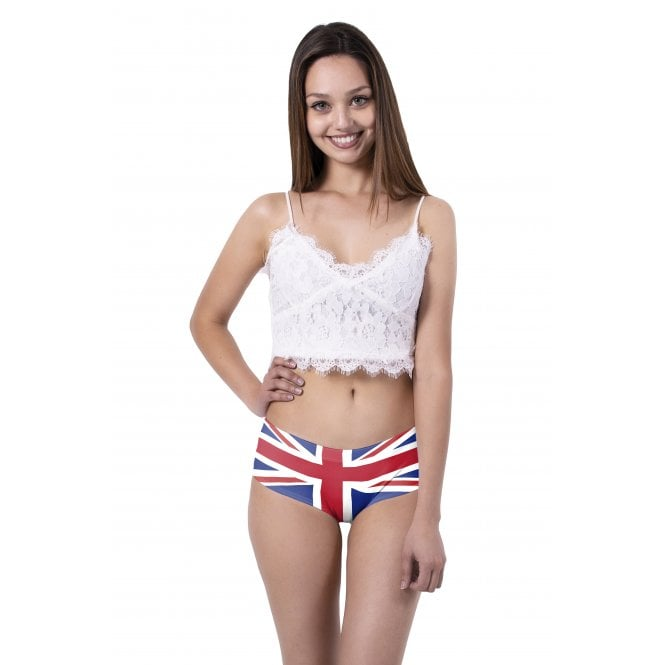 Union Jack Wear Union Jack Ladies Knickers - with ears!
