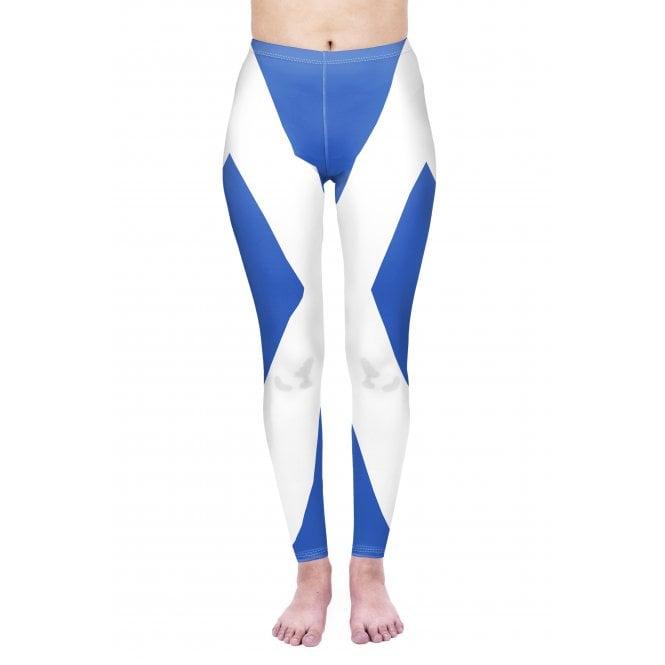 Union Jack Wear St Andrews Flag Leggings - Scotland Leggings