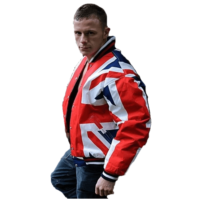 Union Jack Wear Union Jack Bomber Jacket