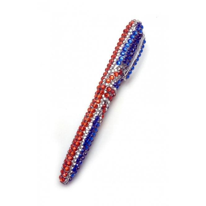 Union Jack Wear Union Jack Diamante Pen Sparkle Union Jack Ballpoint pen
