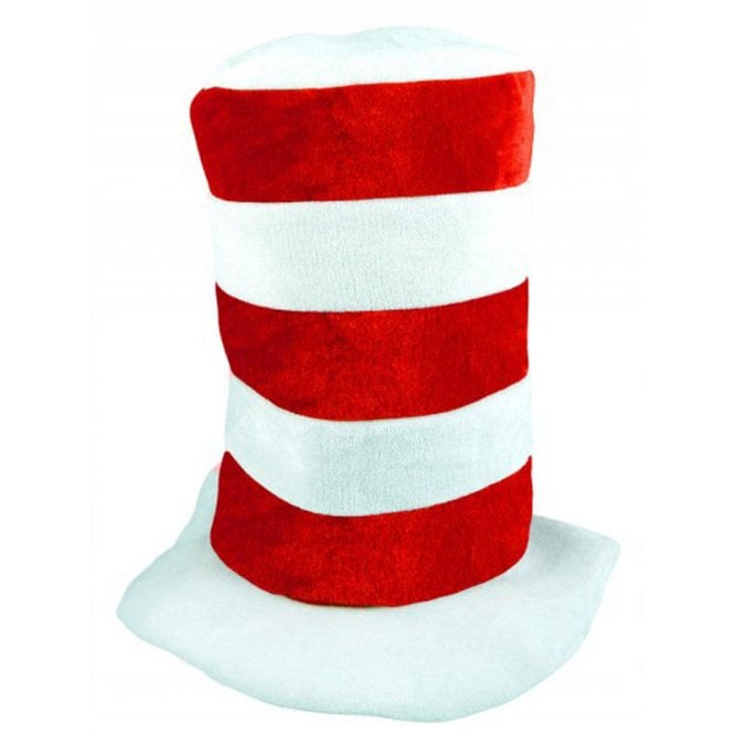 Union Jack Wear Tall Red & White stripe hat - England -Football or Rugby ?
