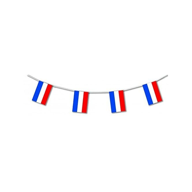 Union Jack Wear Red White & Blue Stripe's - Netherlands Holland - Flag Bunting 5m