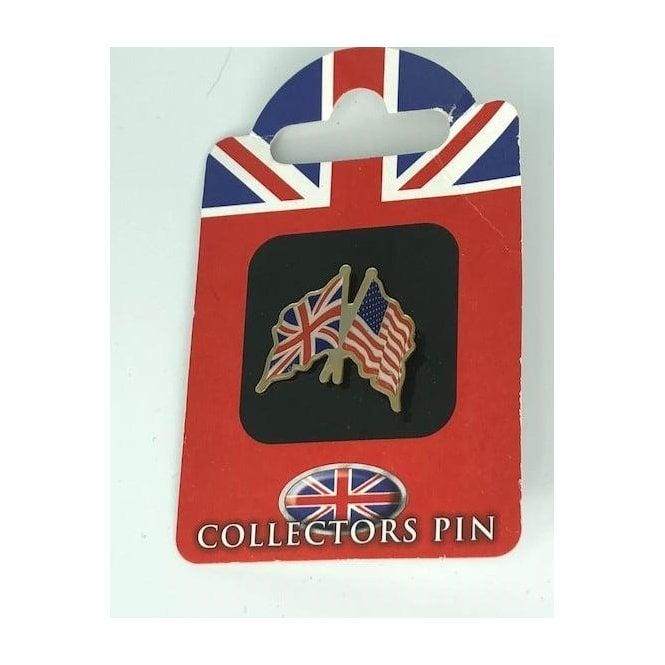 Union Jack Wear Union Jack / USA America Friendship Badge