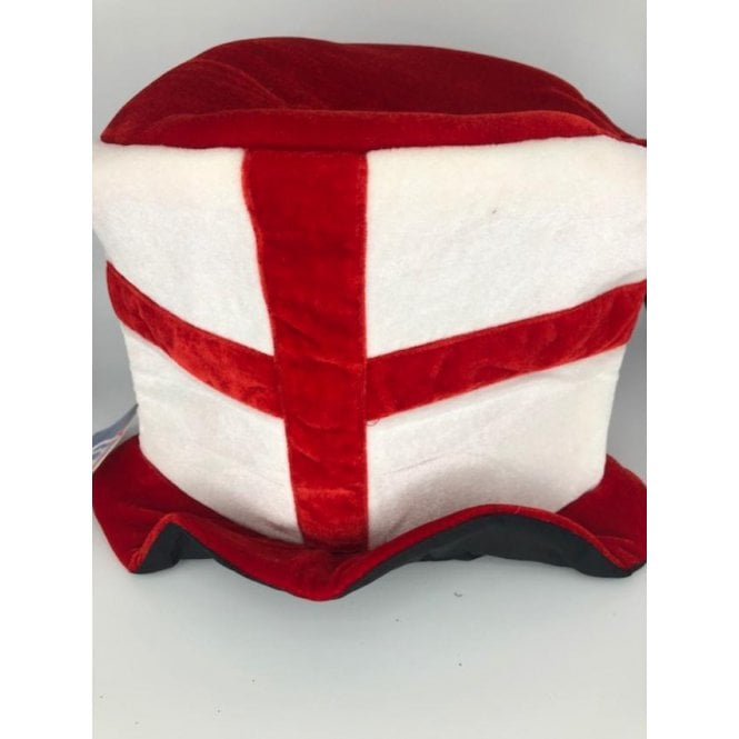 Union Jack Wear England St George Topper Hat