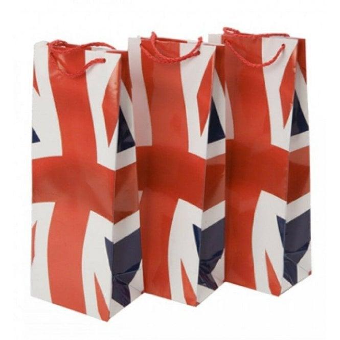 Union Jack Wear Union Jack Bottle Gift Bag 3 Pack