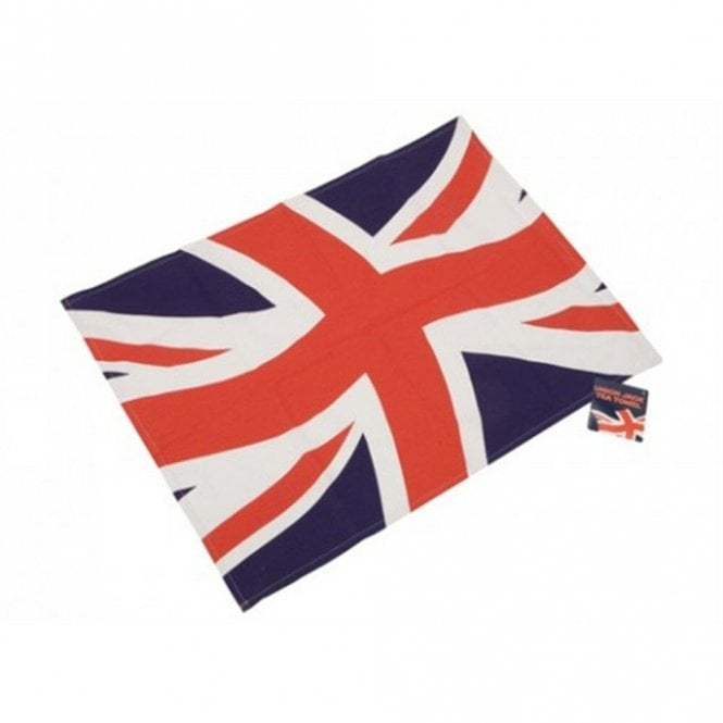 Union Jack Wear Union Jack Tea Towel - wave
