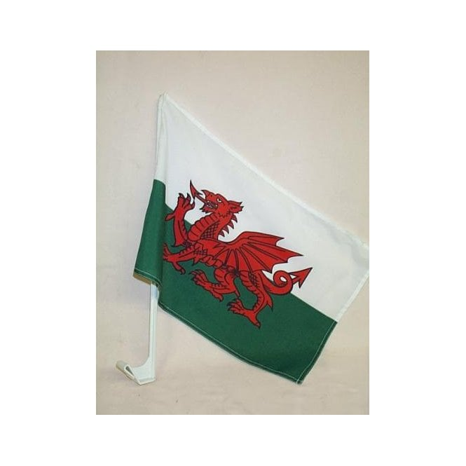 Union Jack Wear Wales Car Flag
