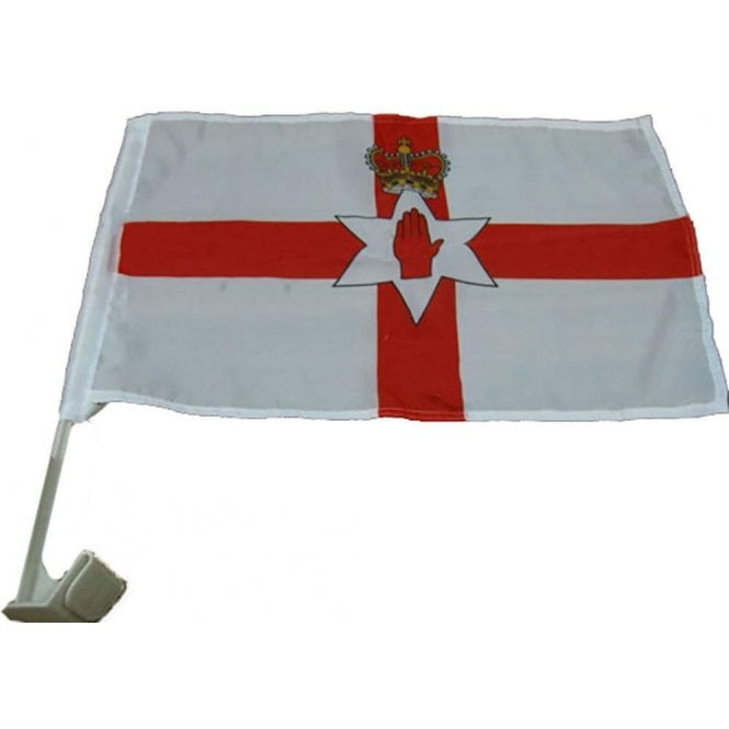 Union Jack Wear Northern Ireland Car Flag