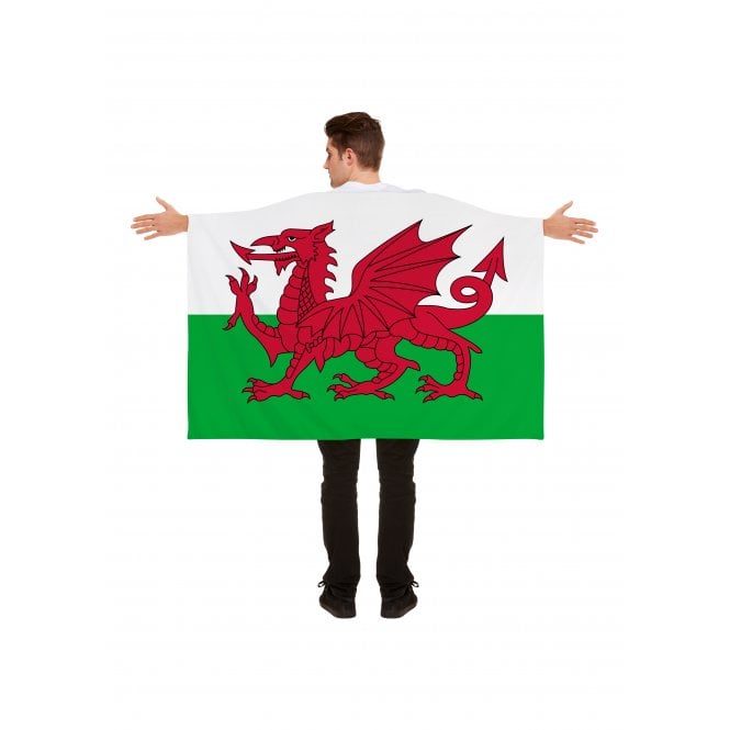 Union Jack Wear Wales Flag cape