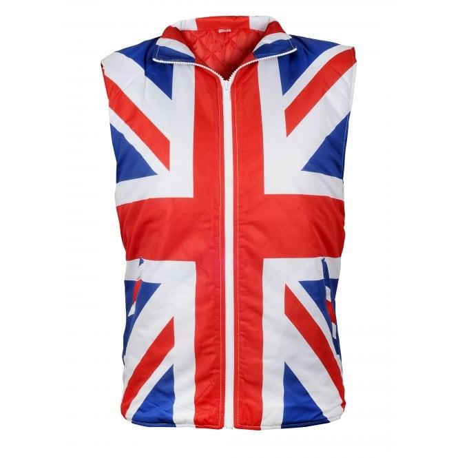 Union Jack Wear Union Jack Body Warmer