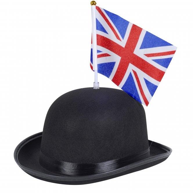 Union Jack Wear Great British Bowler with Union Jack Flag