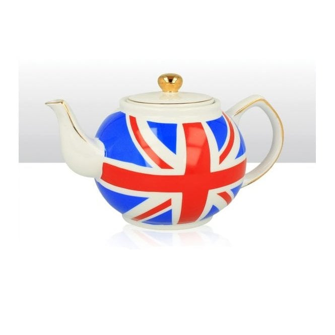 Union Jack Wear Union Jack Round Tea Pot