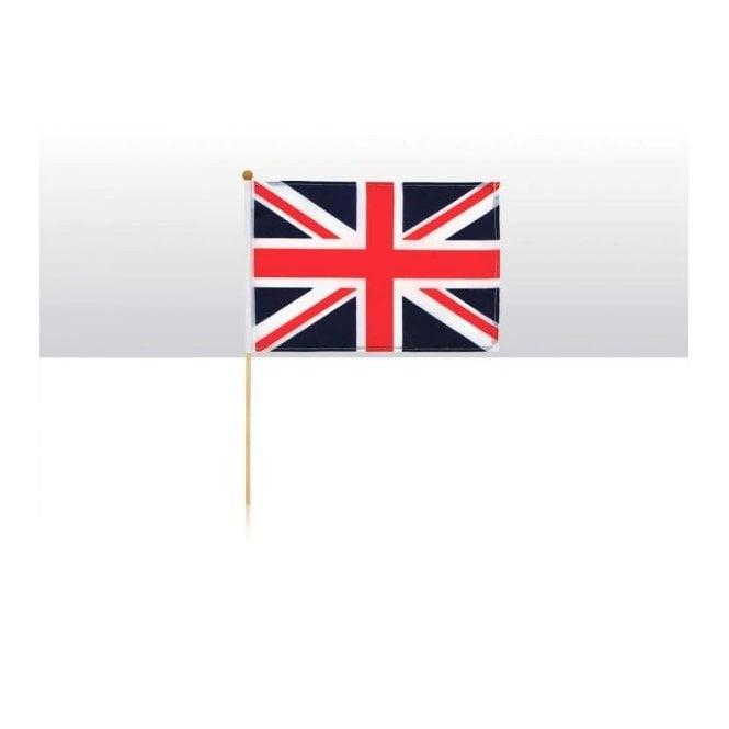 Union Jack Wear Union Jack Hand Flag - Fabric flag on wooden stick 6