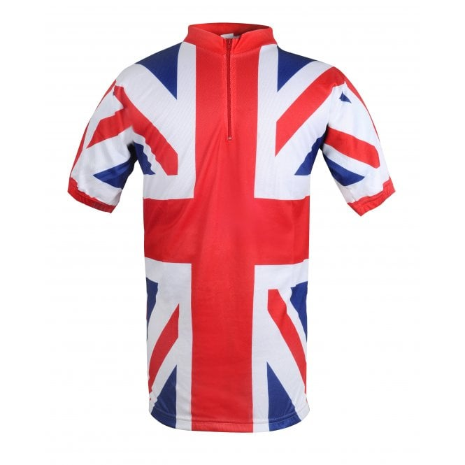 Union Jack Wear Union Jack Cycling Top