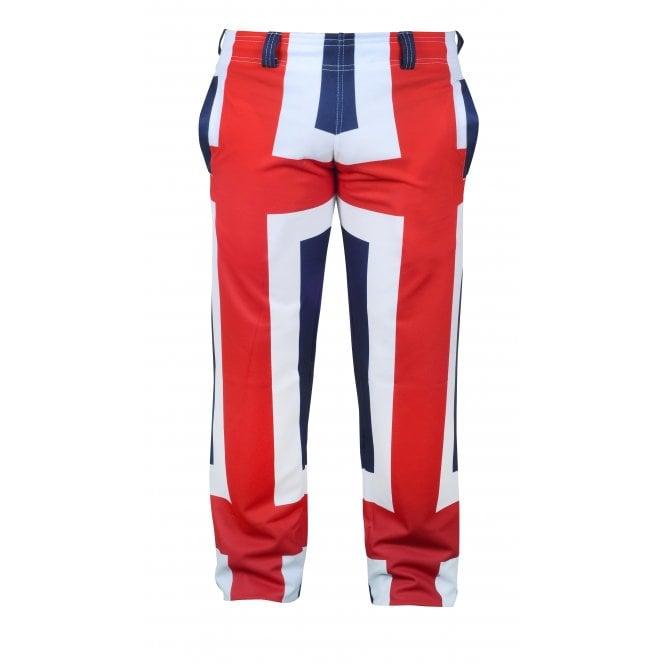 Union Jack Wear Union Jack Golf Trousers