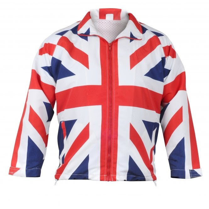 Union Jack Wear Mens Lightweight Union Jack Jacket / Coat