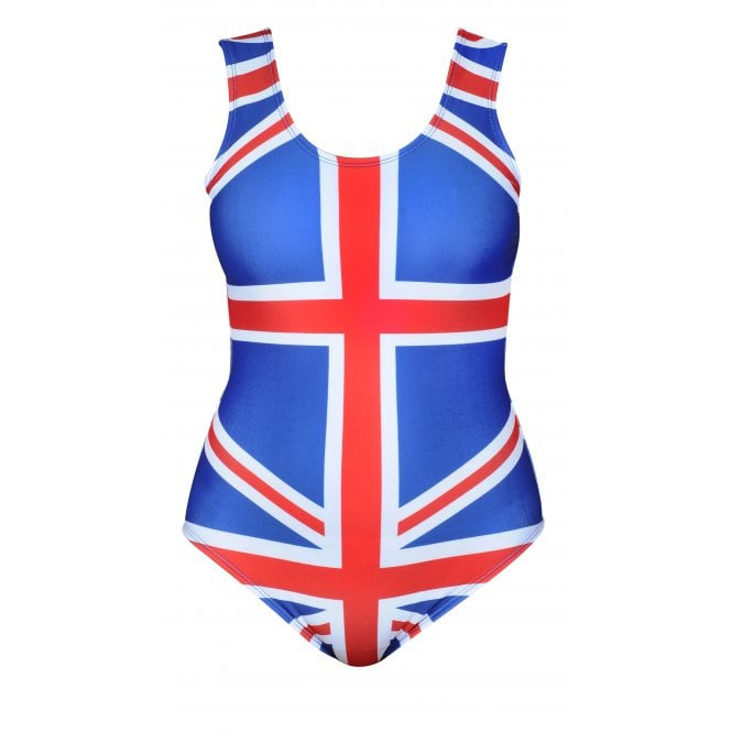Union Jack Wear Ladies Union Jack Swimming Costume