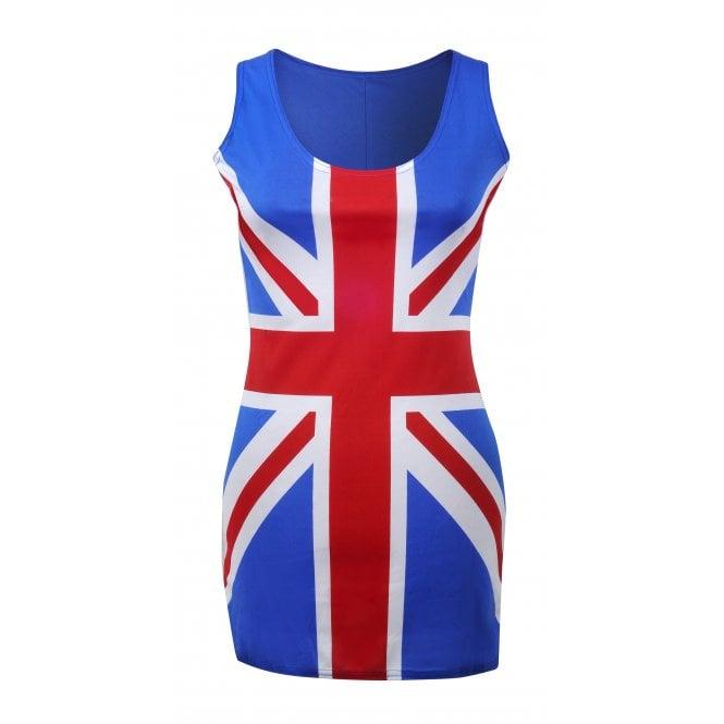 Union Jack Wear Ladies Union Jack Dress - Ginger Spice?