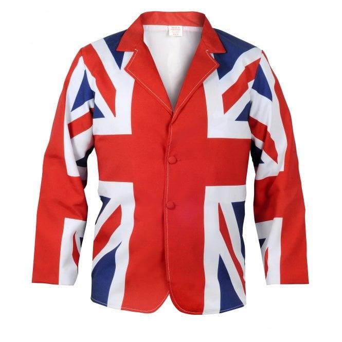 Union Jack Wear Union Jack Flag Classic Style Jacket