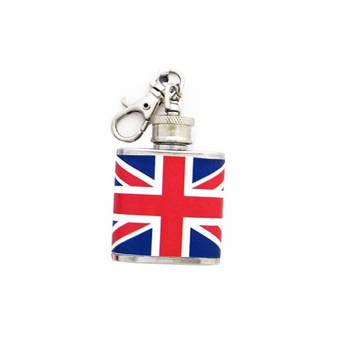 Union Jack Wear Union Jack Flask Keyring