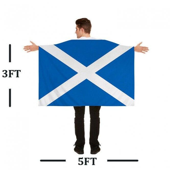 Union Jack Wear Scotland St Andrew Flag Cape