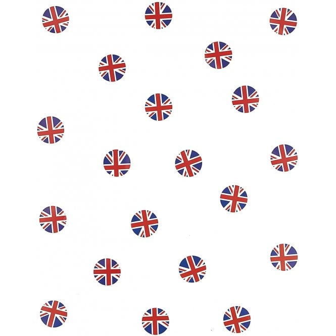 Union Jack Wear Union Jack flag table confetti