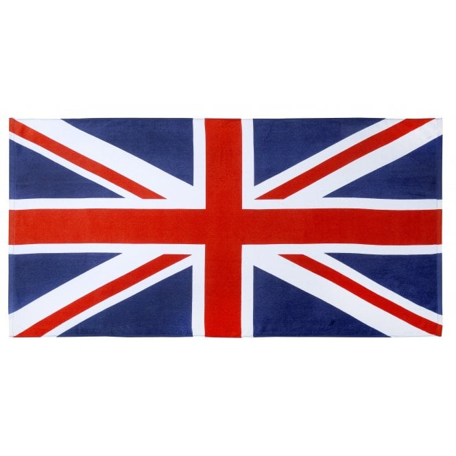 Union Jack Wear Union Jack 100% Cotton Beach Towel