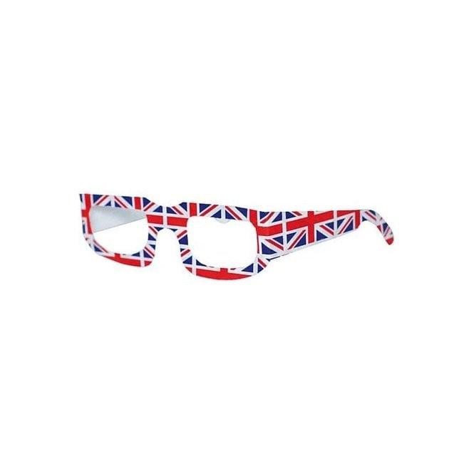 Union Jack Wear Union Jack Party Glasses