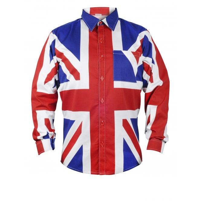 Union Jack Wear Union Jack Long sleeved Shirt