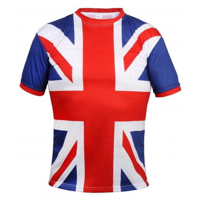 Union Jack Wear Union Jack All Over Classic Design T-Shirt