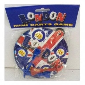 Union Jack Mini Darts Board Game