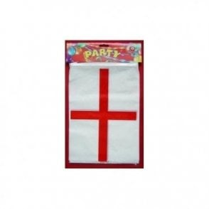 St George Plastic Bunting  10m  ENGLAND