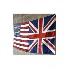 Union Jack USA Friendship Flag