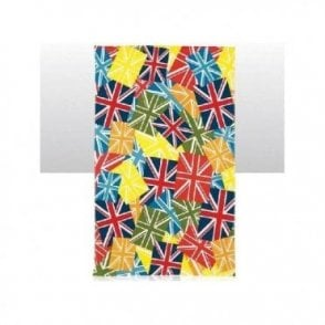 Union Jack Multi Coloured Tea Towel