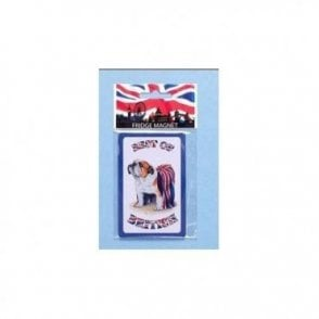 British Bulldog Fridge Magnet
