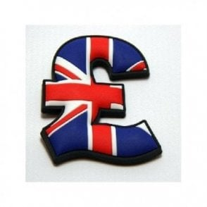 Union Jack Pound Sign Magnet