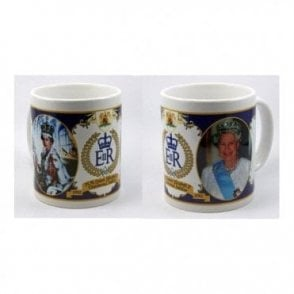 Queen's Diamond Jubilee Mug - Collectors Item