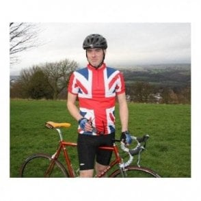 SALE Union Jack Cycling Top