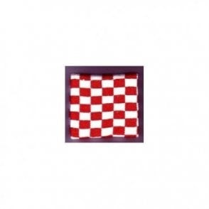 Red and White Chequered Wristband