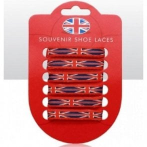 Union Jack Shoe Laces